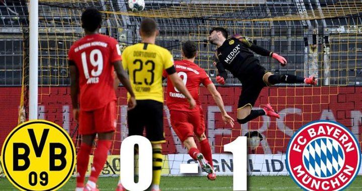 ไฮไลท์ผลการแข่งขัน Dortmund vs Bayern